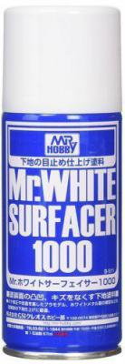 Gunze Mr.White Surfacer 1000 // Sprey Astar 170ml