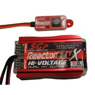 Scott Gray Reactor HVX RC Power Supply System