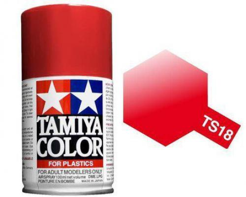 TS-18 100ml Spray Metalic Red for Scania Truck