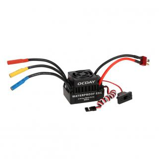 OCDay 60A Waterproof Brushless ESC (2-3S LiPo BEC5.5V/3A)