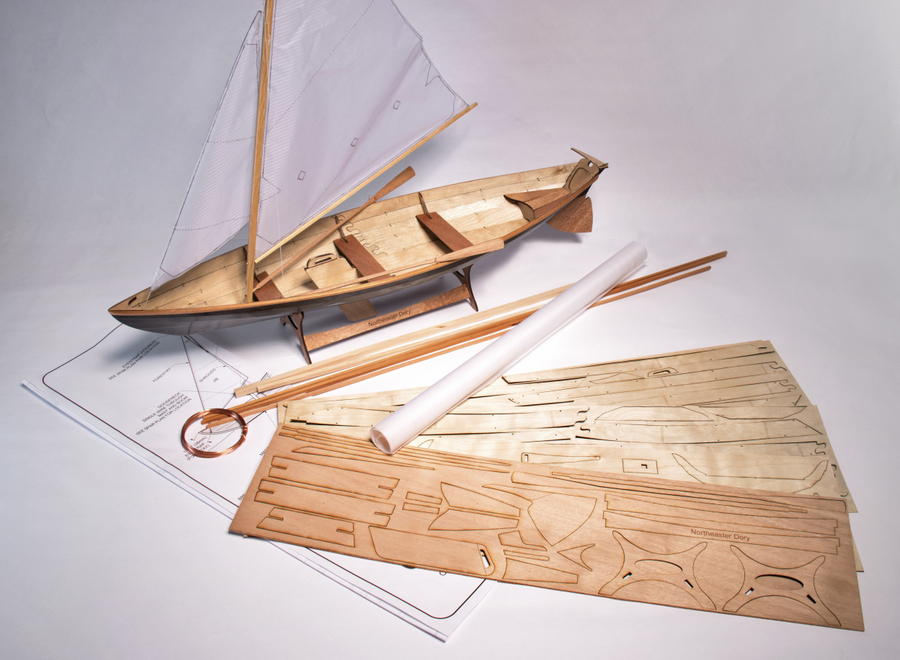 Wooden Boat Kit